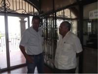 Acercamiento para la entrega recepción de Huimanguillo