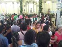 Celebran católicos a  la Virgen del Carmen