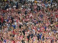 Croatas inundan de festejos las calles