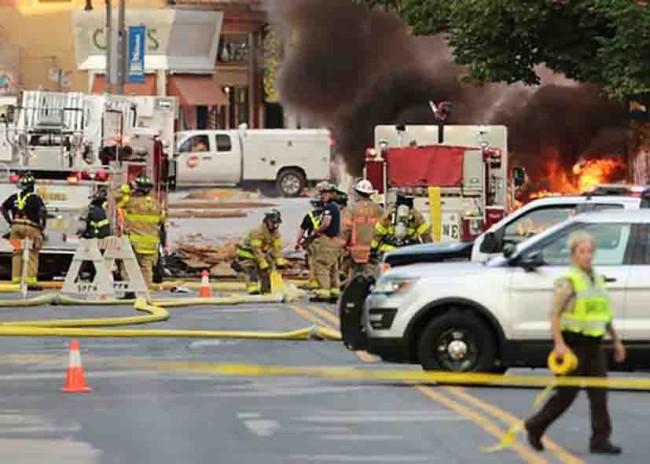 Explosión en Wisconsin