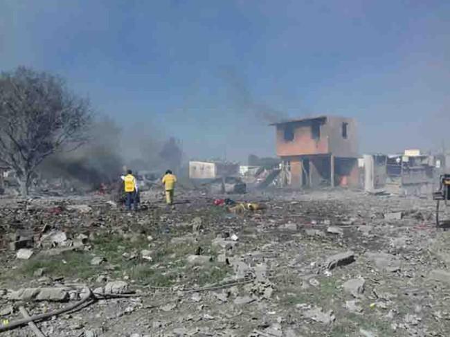 Plan de acción para evitar  explosiones en Tultepec