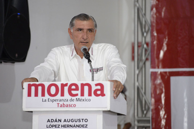 Se reunirá Adán Augusto  con el gobernador Núñez