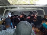 Rescatan a 53 Migrantes,  28 son menores de edad