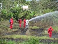 La gente no se cansa de provocar incendios: PC