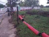 Vandalizan red contraincendios de Pemex, en Jalpa