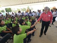 Entrega Núñez obras por 48.8 mdp en Jalpa de Méndez