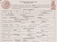 Alerta, clonan actas de nacimientos en municipios