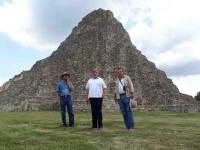 """Visita delegado del INAH zona arqueológica """"Moral de Reforma"""""""