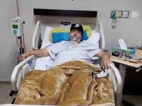 Julio Preciado, hospitalizado