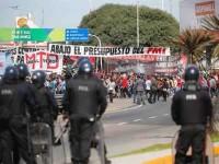 ¡Repudian a Macri!
