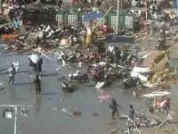 Suman 832 muertos por sismo y tsunami