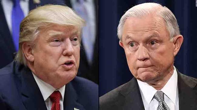 Lanza Trump ataque directo contra Jeff