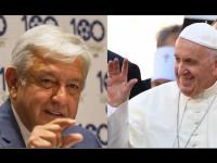 Acuerdan AMLO y el Papa Francisco trabajar por jóvenes