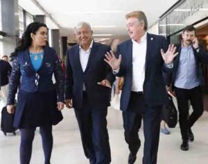 No cerraré Palacio  Nacional: Obrador