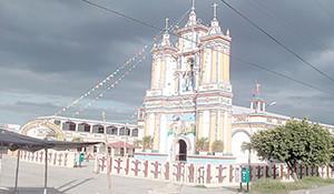 Culpico y su iglesia por el pueblo mágico