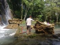 """Se desprenden rocas en  cascadas de """"Villa Luz"""""""