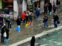 Italia bajo el agua
