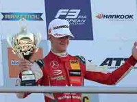 Mick Schumacher  es Campeón de F3