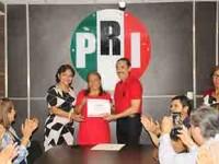 Yolanda Rueda, Secretaria  de Enlace con Municipios de  Oposición del CDE del PRI
