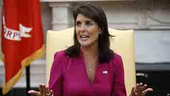 Nikki Haley abandonará la ONU