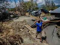 Catástrofe, desaparece un pueblo en Indonesia