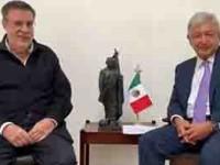 Está pasando la tormenta por  la consulta del NAIM: Obrador