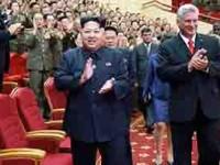 Presidente de Cuba visita Corea del Norte