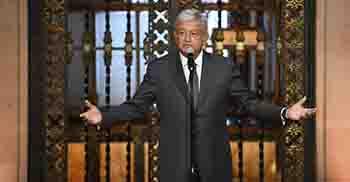 rá López Obrador a Palacio  Nacional, tras toma de protesta