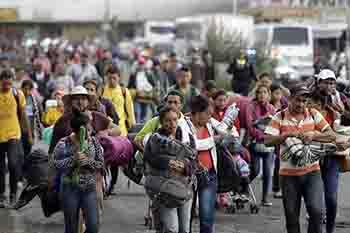 Llegarán 5 mil migrantes  a la Ciudad de México