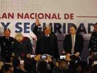 Presenta AMLO su Estrategia  Nacional de Paz y Seguridad