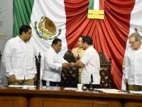 Recibe la LXIII Legislatura  sexto y último informe de  gobierno del Poder Ejecutivo
