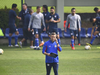 Cruz Azul ensaya los  penales para la vuelta