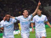 Chucky y PSV eliminan al Inter de Milan