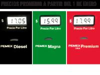 Gasolineros suben y bajan  el precio del combustible