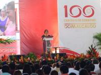 Rinden informe de  100 días de gobierno
