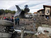 ¡Cae avión de carga!