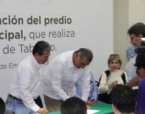 Donan predio que ocupa el Palacio municipal de Centro