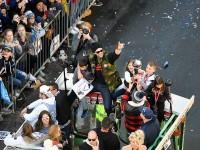 Patriotas arman  la fiesta en Boston