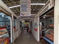 Continúan sin luz en el mercado Pino Suárez