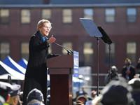 Senadora ElizabethWarren destapa su candidatura para la Casa Blanca