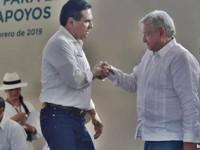 Cuente conmigo señor Presidente,  le dice Silvano Aureoles a AMLO