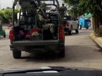 Atajan a delincuentes en zona de Comalcalco