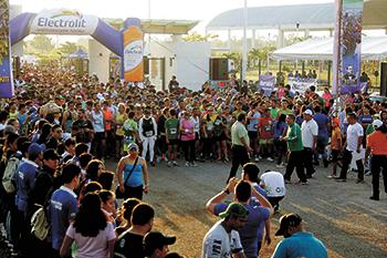 """Se efectuó la XXXVI  Carrera """"Benemérito de las Américas"""" de la UJAT"""