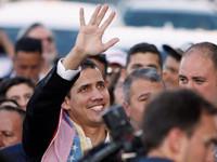 Llega Guaidó sin contratiempos