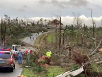 Suman 23 muertos por tornados