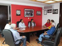 Visita Medina Filigrana el PRI