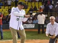 Inaugura Adán Augusto temporada 2019 de la Liga Mexicana de Béisbol