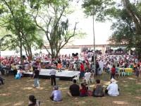 Gran éxito en el tianguis  campesino de Comalcalco  realizado en Zona Arqueológica