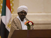 Omar al Bashir tras las rejas