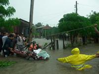 Lluvias torrenciales azotan Río de Janeiro